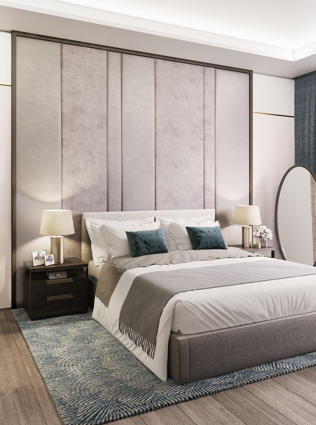 Interior Design Of Bed Rooms: Modern Bedroom Furniture, Luxurious Bedrooms