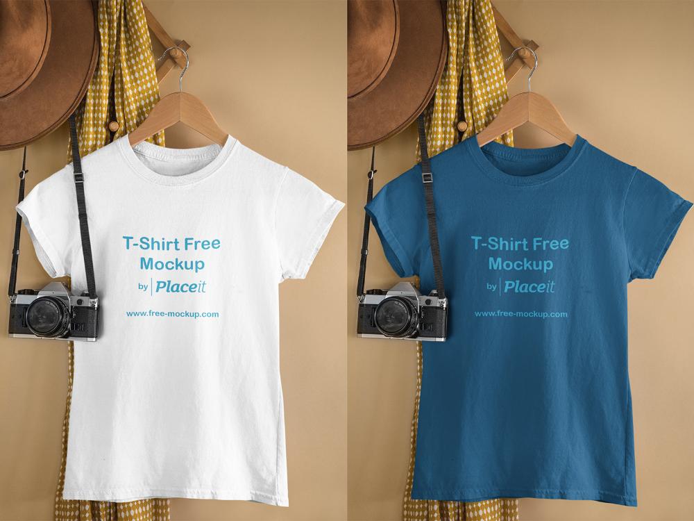 Download T Shirt Free Online Mockup Free Mockup Free Shirts Free Online Free Mockup