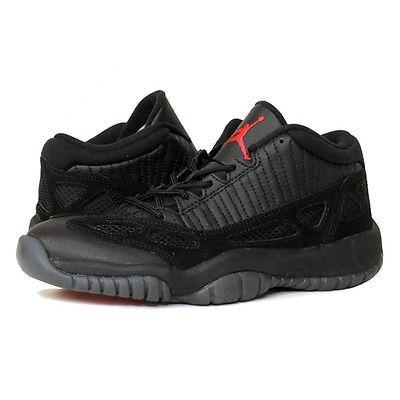best service 95961 0258c Nike Air Jordan 11 Retro Low Referee Gs Kids 768873-003 Black Shoes Youth  Sz 6.5