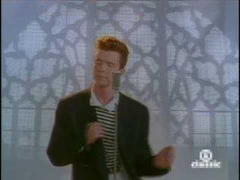 Rick Astley Never Going To Give You Up Rick Astley Rick Rolled Funny Gif
