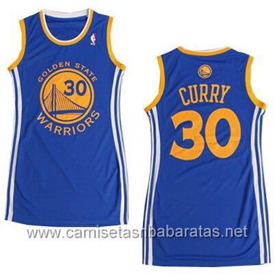 65f8e1adfc475 Camisetas Mujer Golden State Warriors Curry  30 Azul nuevos tejidos €22.99