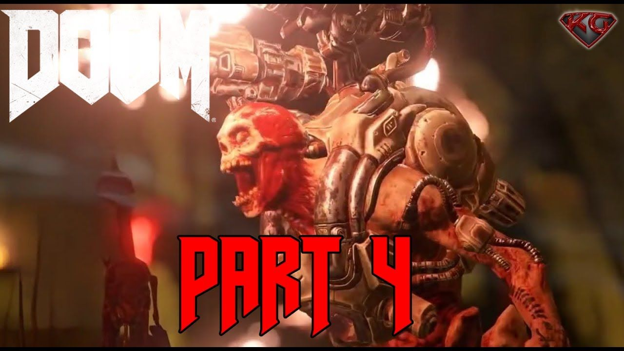 DOOM 4 Gameplay Walkthrough Part 4