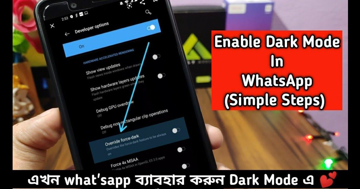 Enable Dark Mode In Whatsapp Ft Max Pro M1 For Every Android Theme For Asus Zenfone Max Pro M1 Color Wallpaper For Android 10 Smartphone Asus Terbaru 2 Gelap