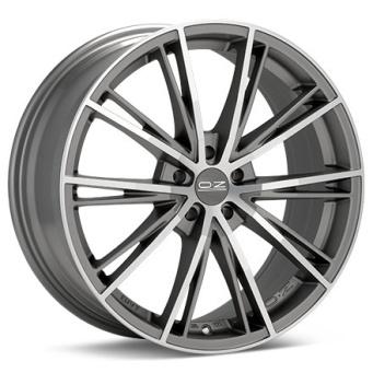 oz envy 7 5x17 et45 5x108 matt silver tech d c oz alloy wheels Audi I5 Turbo oz envy 7 5x17 et45 5x108 matt silver tech d c