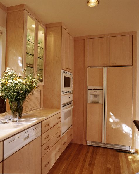 Kitchen - bake center with drawers and shallow upper ...