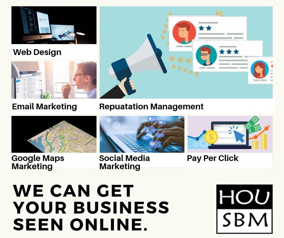 At Houston Small Business Marketing we are multi-facetted ...