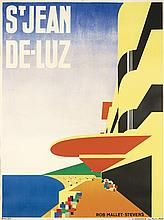 St Jean De Luz 1928 Vintage Travel Posters Travel Posters London Travel Poster