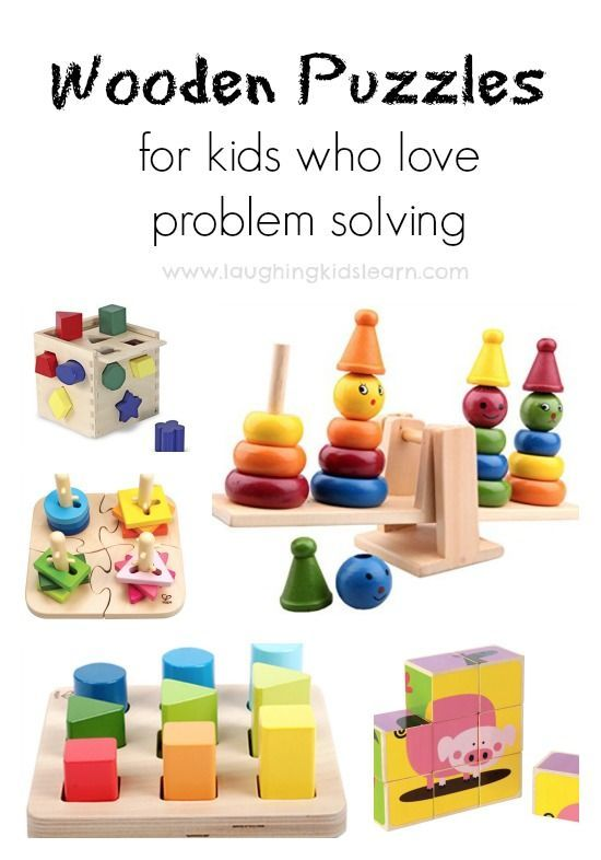 0e018ad23 Wooden toys for children who love problem solving. Great gift Christmas and  birthday gift ideas - Laughing Kids Learn