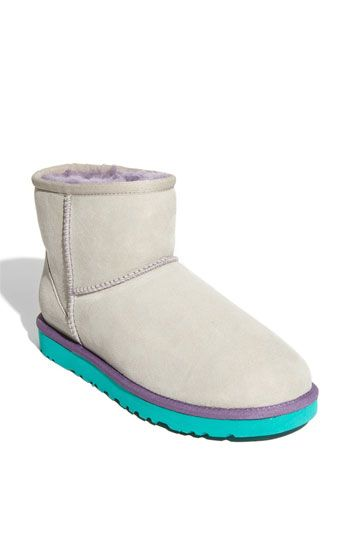 UGG® Australia Classic Mini Boot (Women) Light Grey Neon