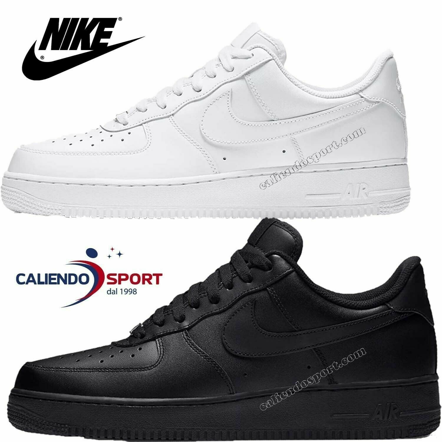 air force 1 mujer blanco y negro