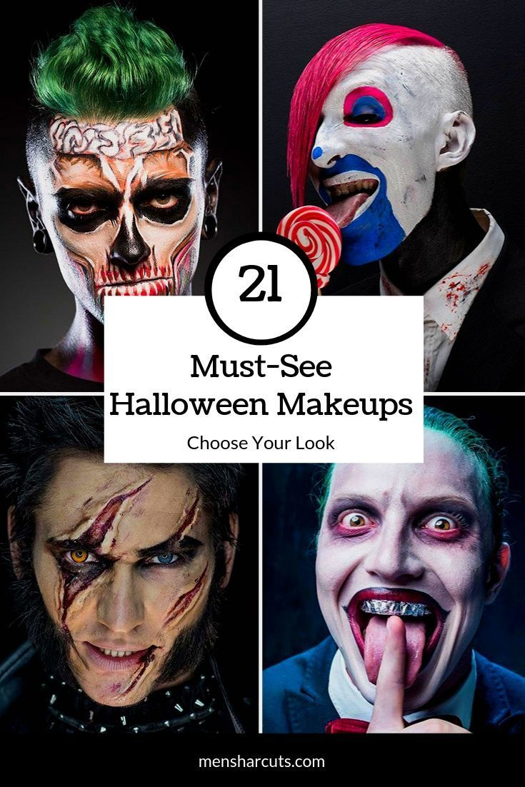 The Collection Of The Trendiest Halloween Makeup Looks For