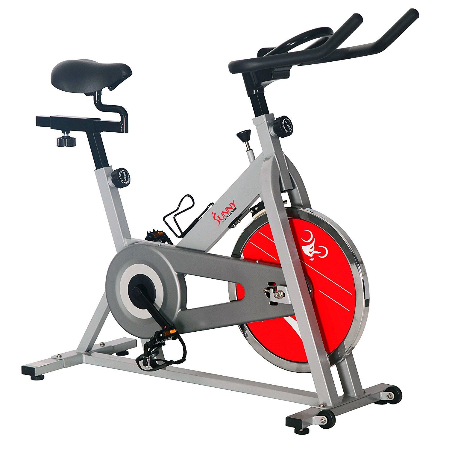 Amazon Com Sunny Health Fitness Sf B1001s Indoor Cycling Bike