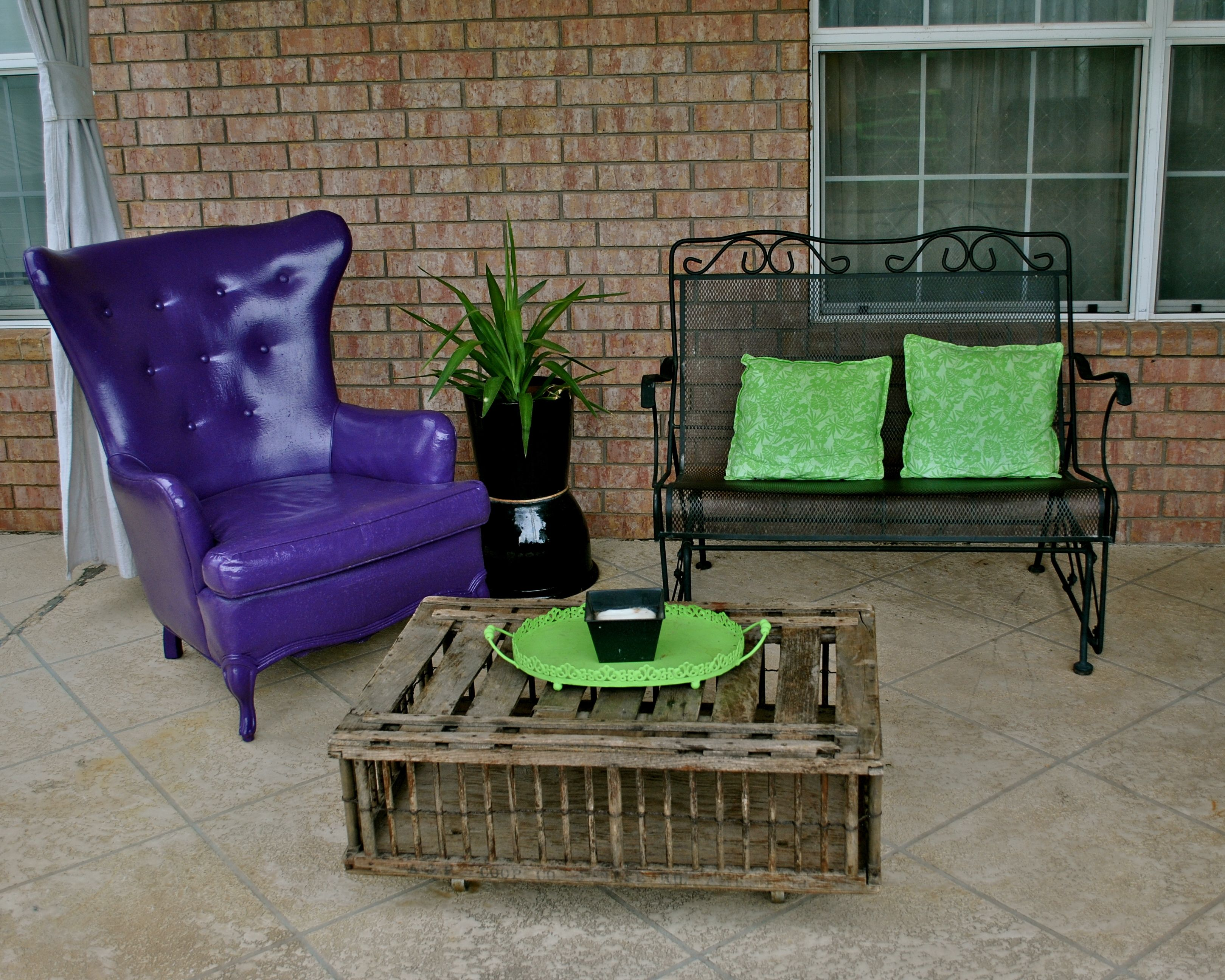 Oil Based Outdoor Paint To Cover Cloth Chair Pleather Type Water Proof Outdoor Chair Home Decor Furniture Diy Painting Furniture Diy