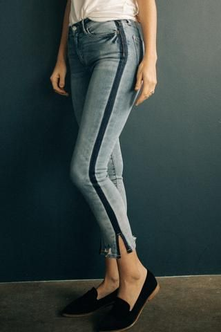 fe608a44f0b Need to spice up your jean collection  We got you with these light wash  cropped.