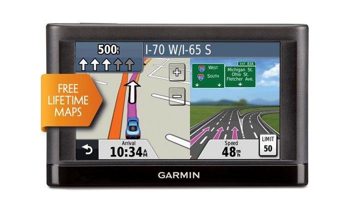 Garmin Nuvi 42lm With Lifetime Map 4 3 Gps Manufacturer Refurbished Gps Units Gps Navigation Garmin Gps