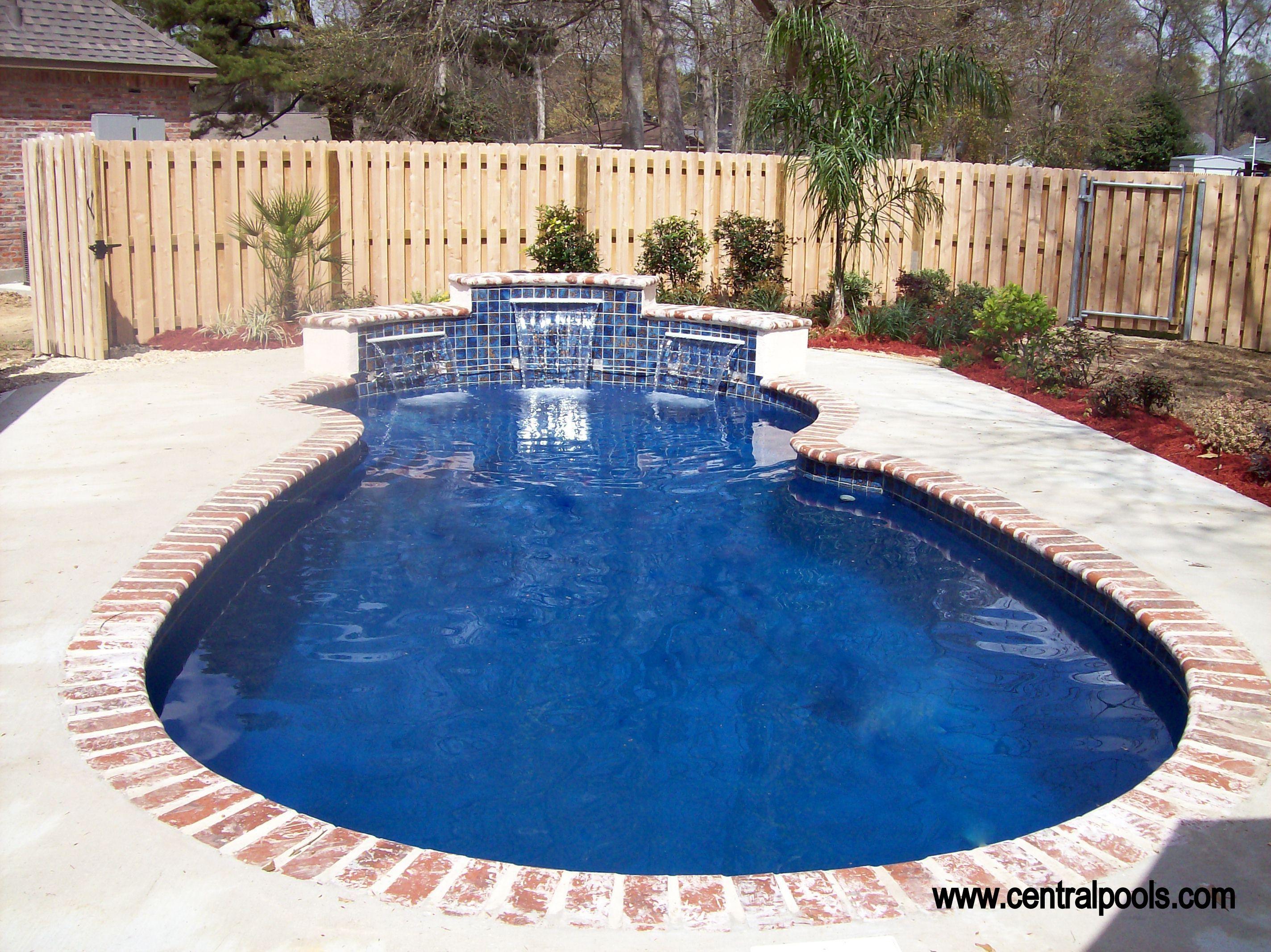Central Pools Baton Rouge Fiberglass Pools Pool Fiberglass Pools Fiberglass Swimming Pools