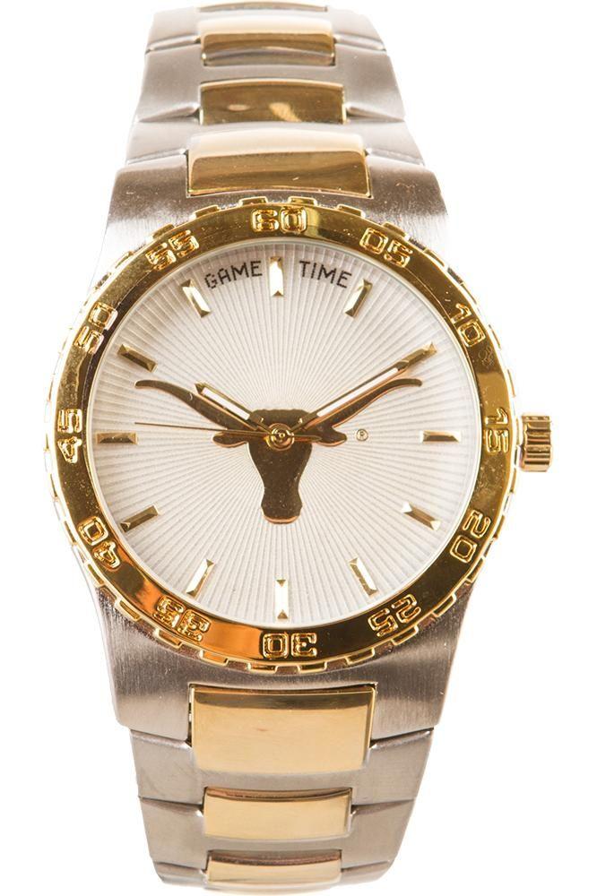 Longhorns Executive Watch University Co Op Online Longhorn Texas Longhorns Gold Watch