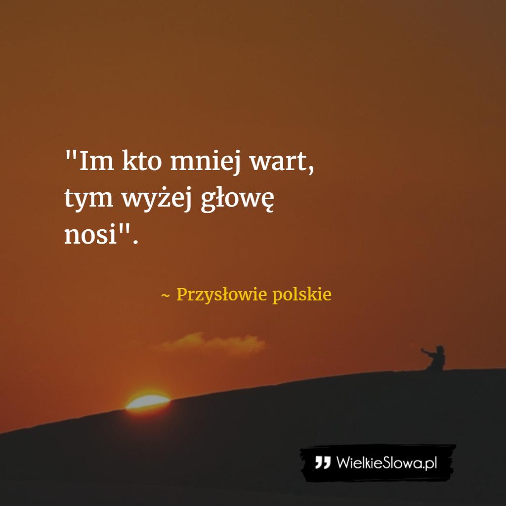 polskie sprüche Im kto mniej wart #Przysłowie Polskie, #Pycha   Truck Finance  polskie sprüche