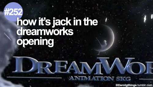 That's a cool detail I missed. Rise of the Guardians - Dreamworks - Jack Frost