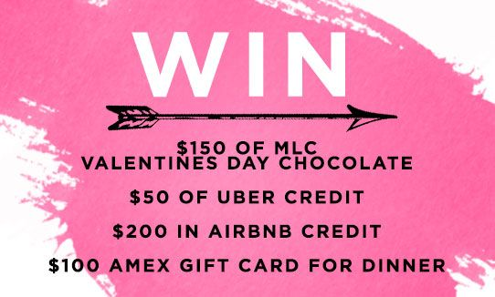 Win Chocolates 50 Uber Gift Card 200 Airbnb Gift Card 100 Amex