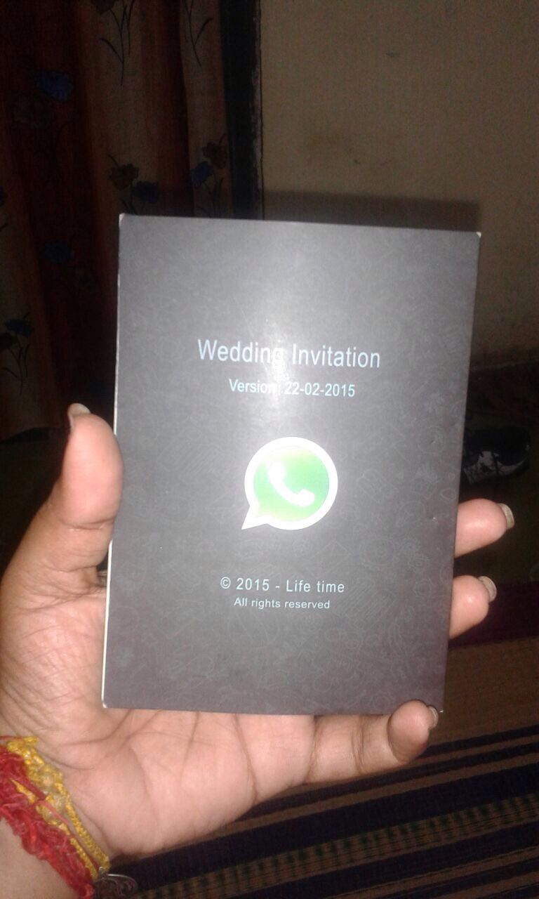 whatsapp invitation   funny    weddings, invitation samples