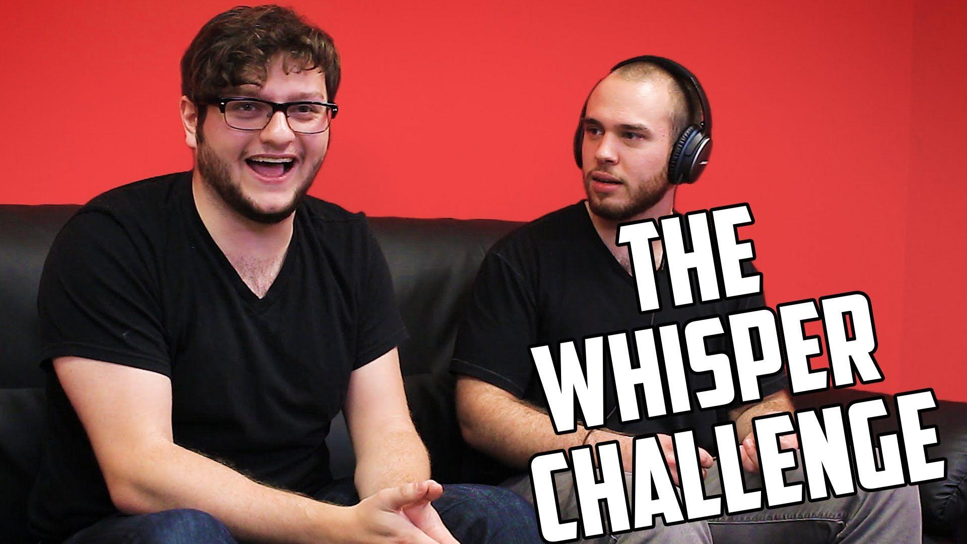 WHISPER CHALLENGE    Lyv and Lex - YouTube   Whisper Challenge Ideas