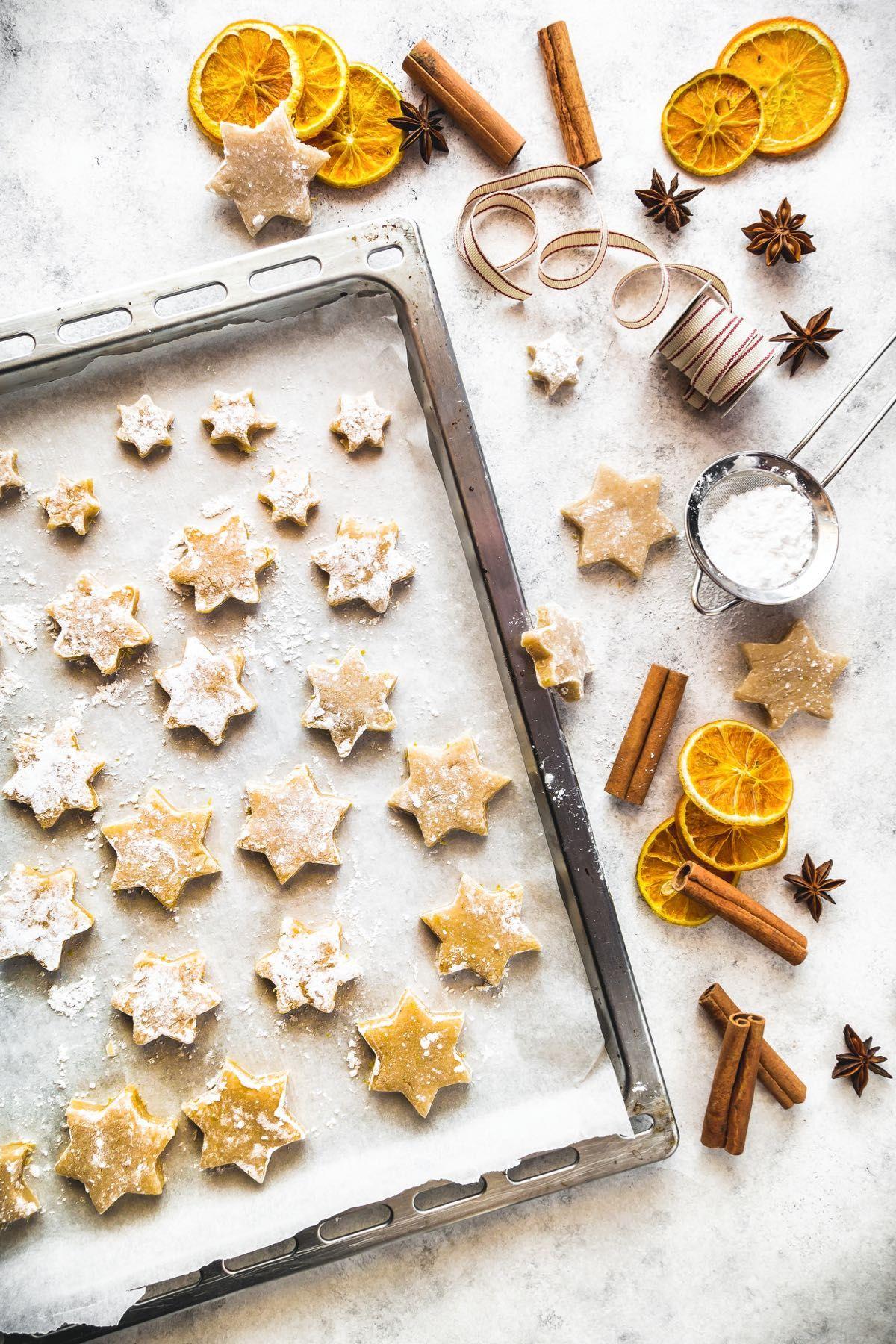 Ricetta Biscotti Di Natale.Zimtsterne Biscotti Di Natale Alla Cannella Zimtsterne Cinnamon Star Cookies