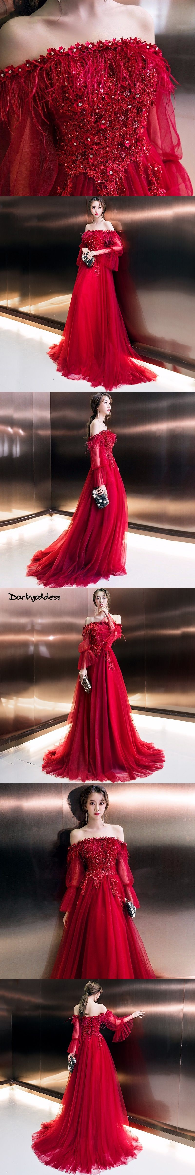 Darlingoddess vestido de festa luxury feather long evening dress