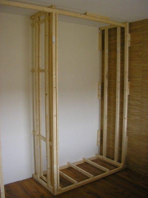 kastenwand maken kastdeuren droom slaapkamer home deco bungalow dressing