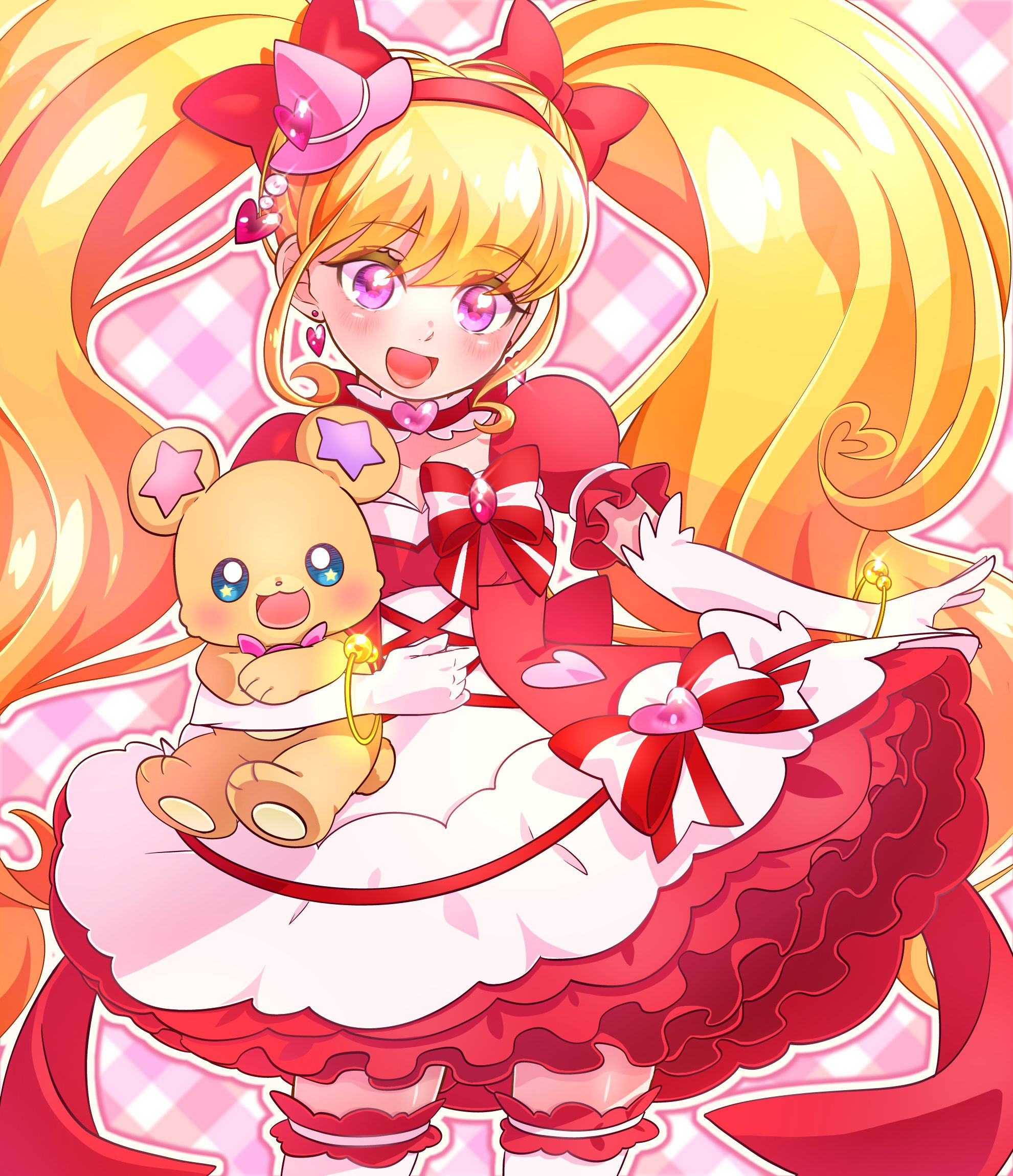 Cure Miracle Ruby Style Mofurun プリキュア