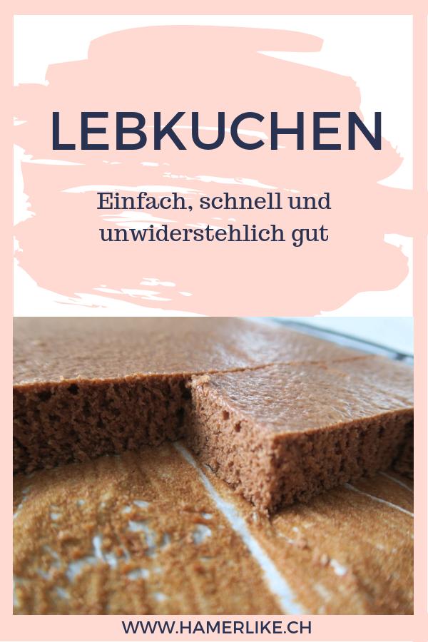 Photo of Lebkuchen – einfach, schnell und unwiderstehlich gut