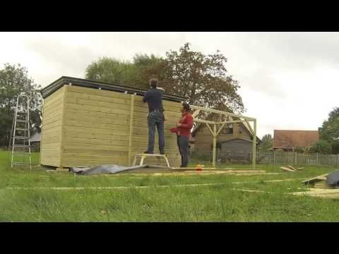 Observatory Build Timelapse - YouTube