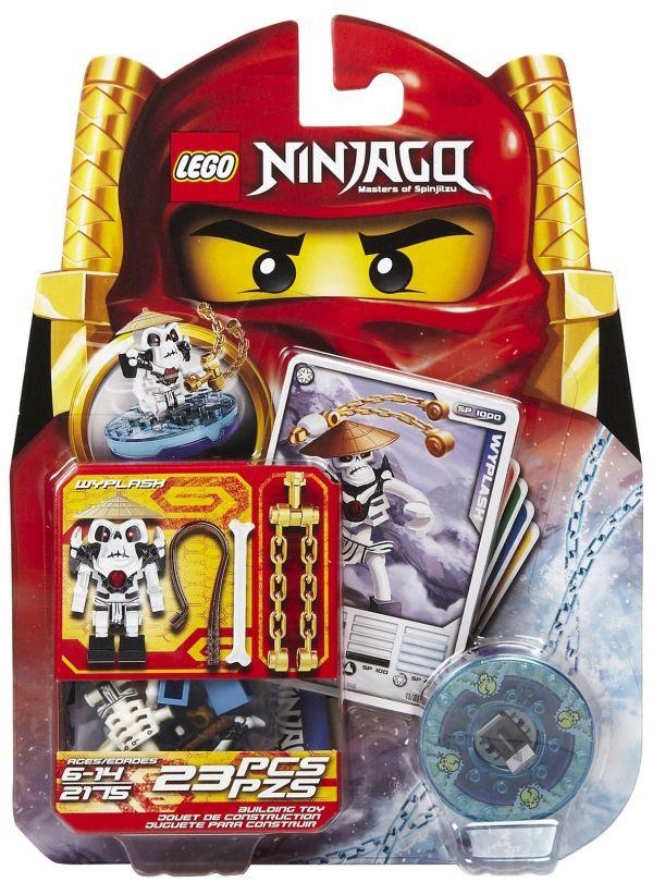Rare LEGO Ninjago New /& Sealed 2174 Kruncha /& 2175 Wyplash