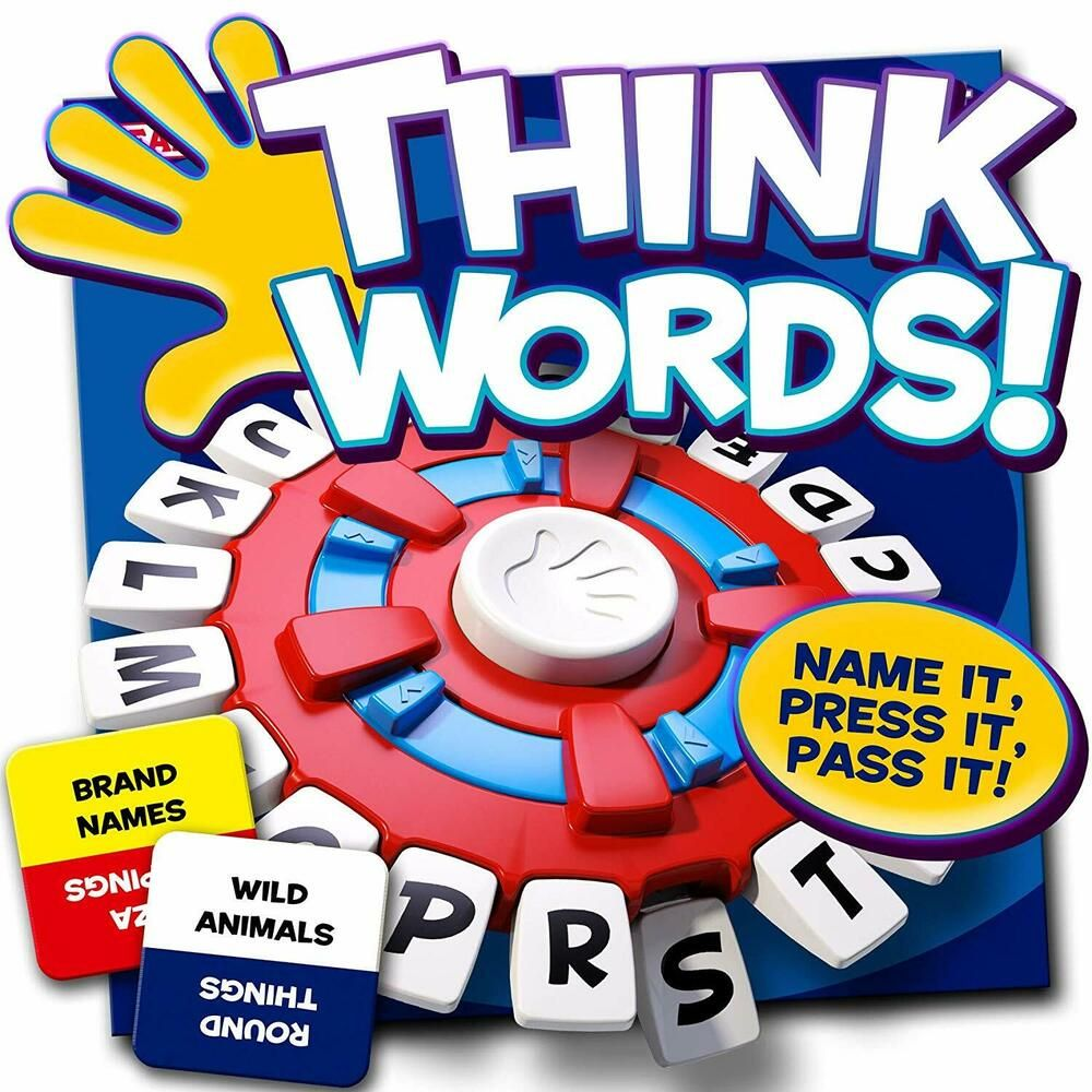 Ebay Sponsored 1158869 Ideal Think Words Gioco Di Parole