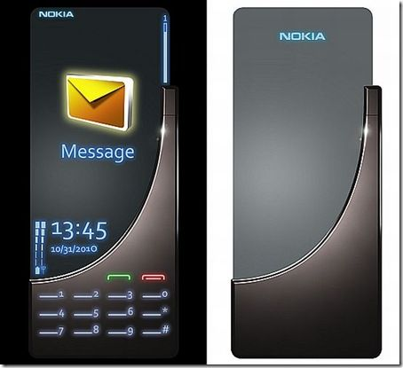 Future luxury cell phone from Nokia