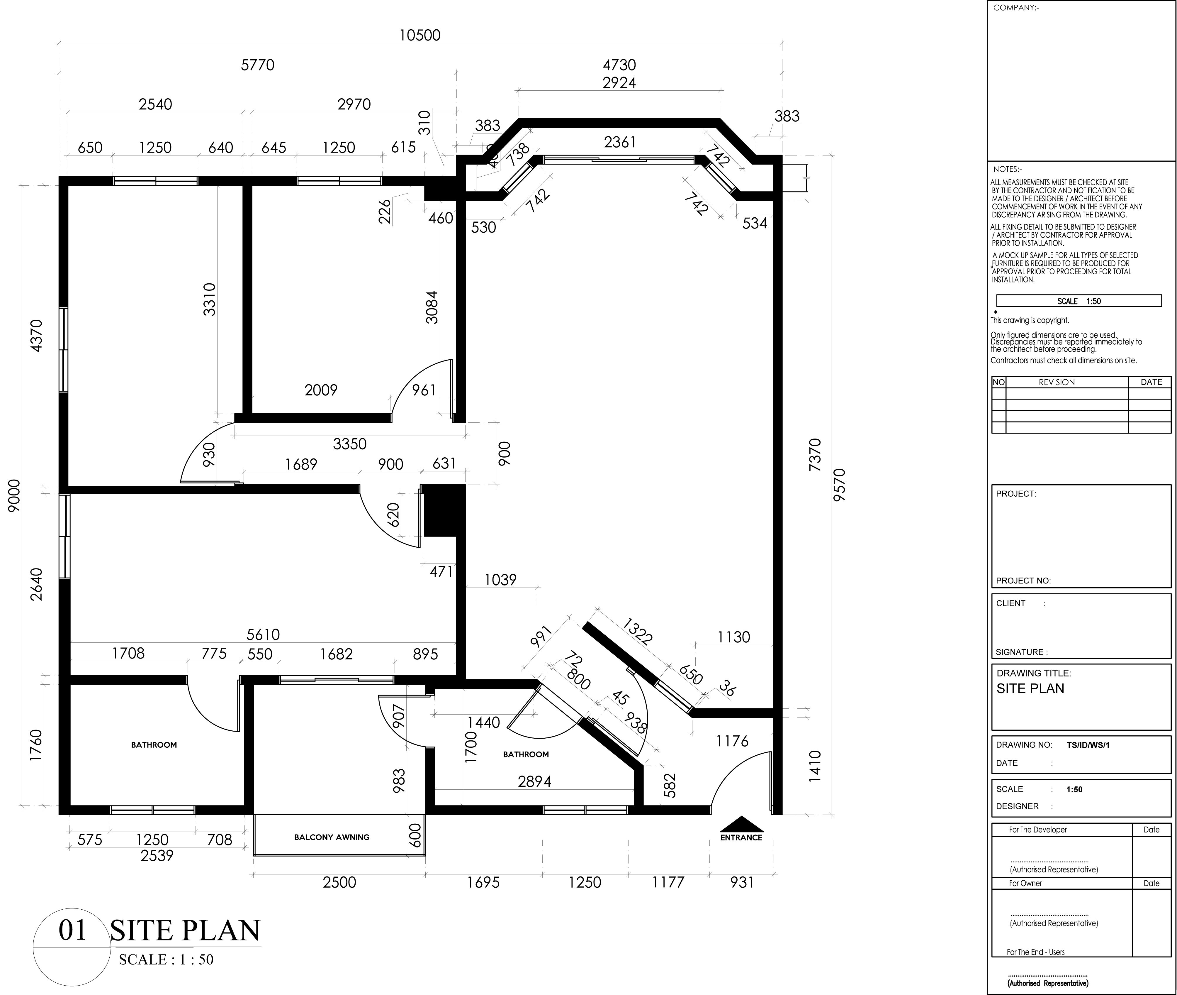 SIte Plan for ID1 Students