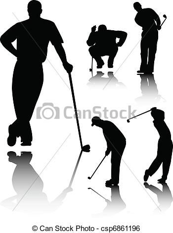 Angry Golfer Clip Art Silhouette Google Search Psych Pinterest