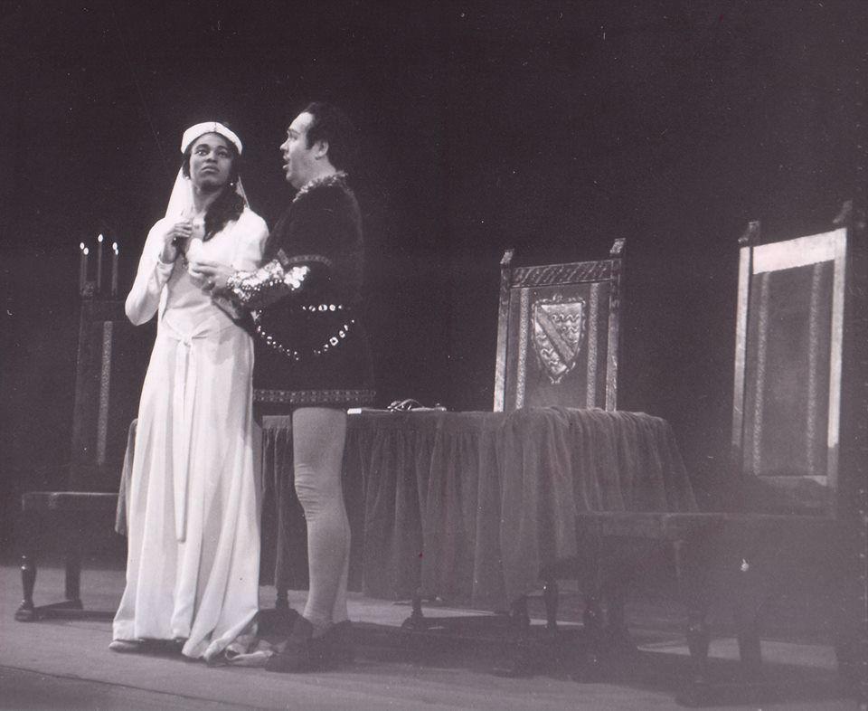 Leontyne Price with Jussi Bjorling in Trovatore, 1958, San Francisco