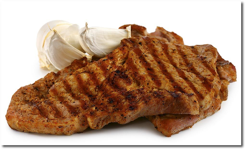 Nacken Steak in Knoblauch Marinade Rezept