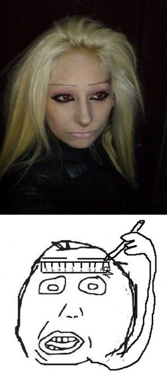 Herp Derp Meme Eyebrows With Images Bad Eyebrows Derp Meme