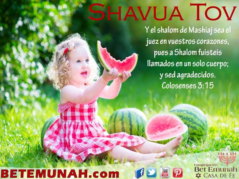 Después de un Shabat hermoso, con una enseñanza prufunda y un hermoso compartir, les deseamos Shavua Tov, buena semana para todos. ¡Gracias YHVH por el hermoso día que nos regalastes!