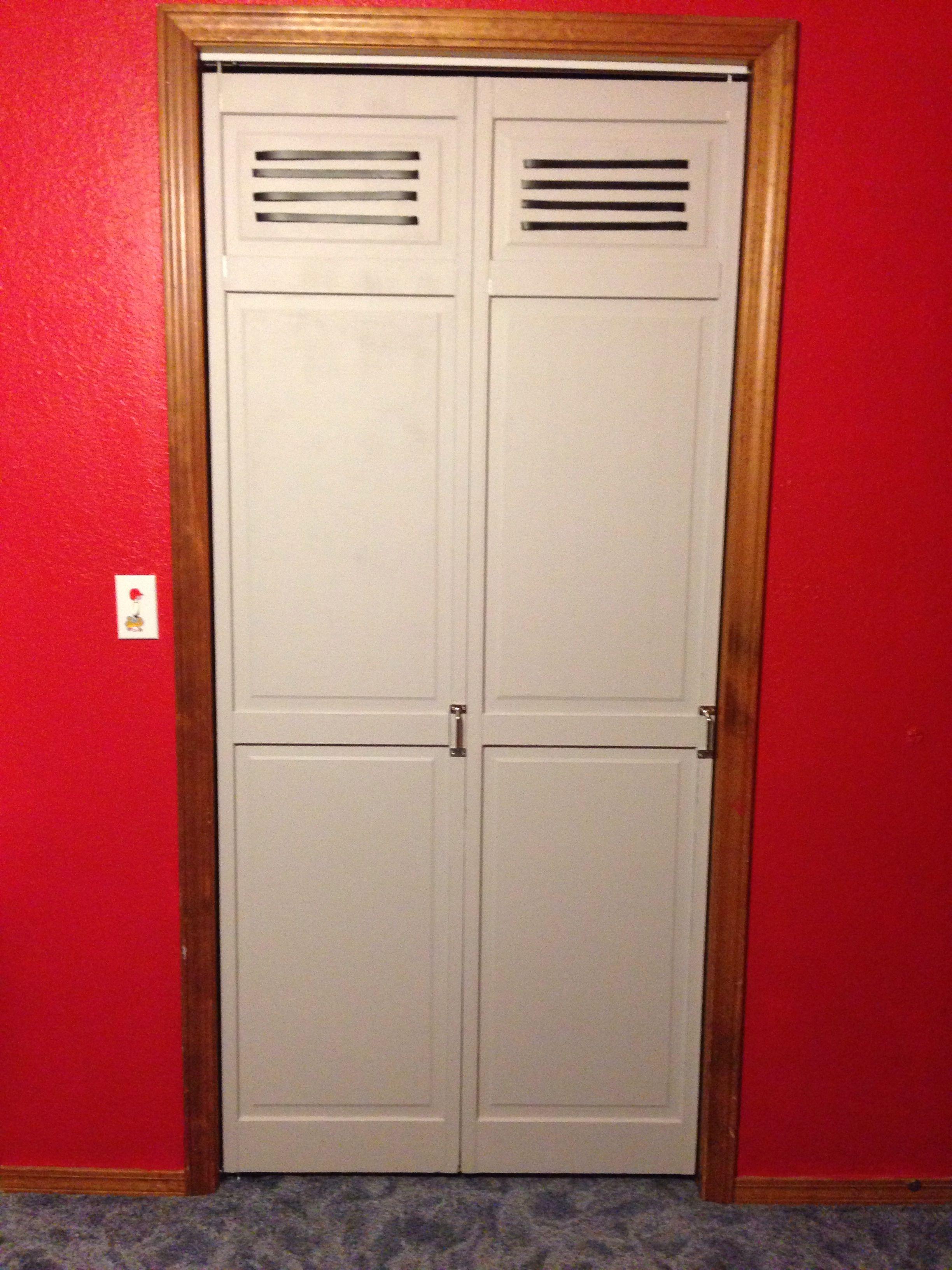 Magnetic Closet Doors Locker Room Bedroom Kids Sports Bedroom