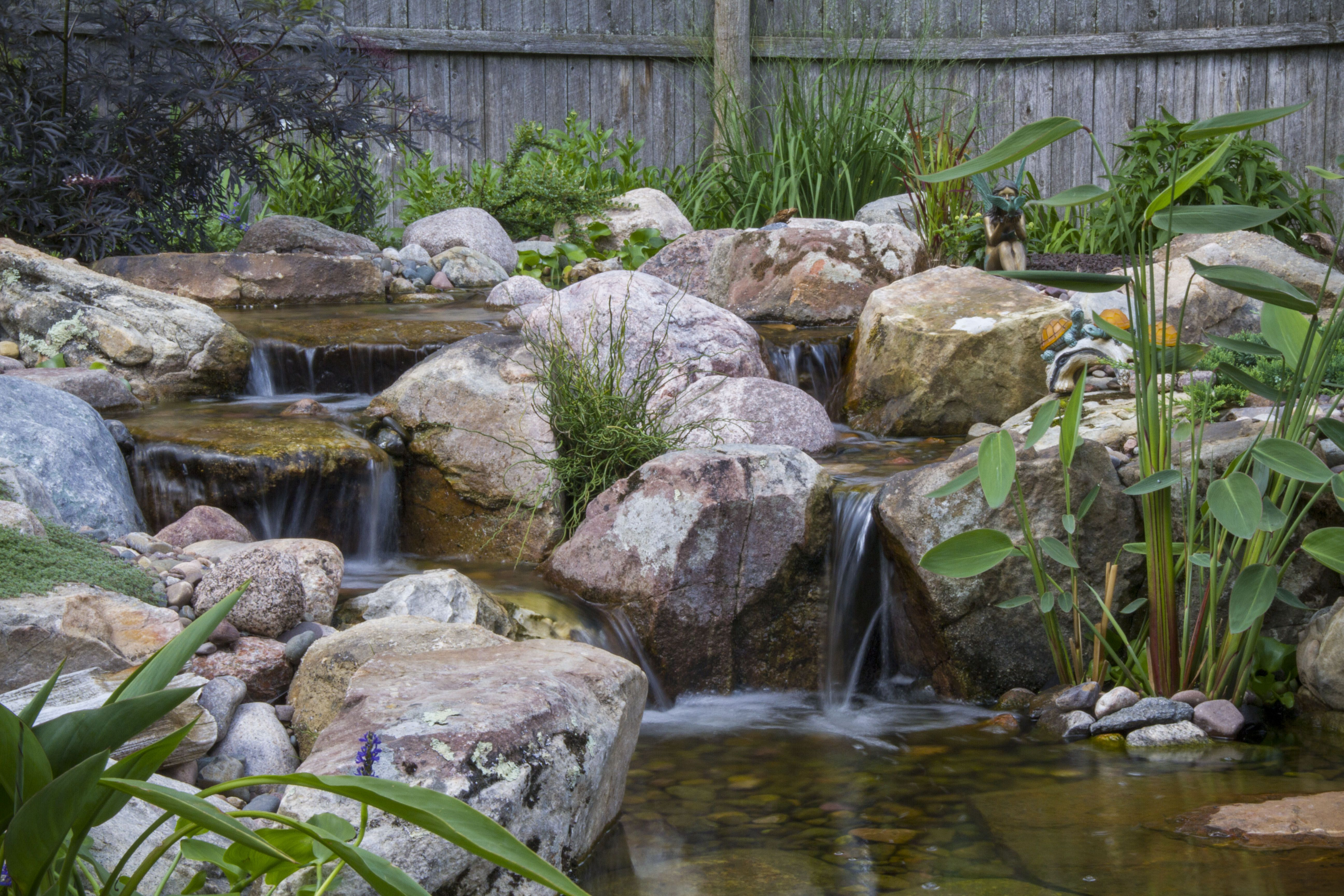 Tips for Building an Amazing Waterfall! | Ponds backyard ...