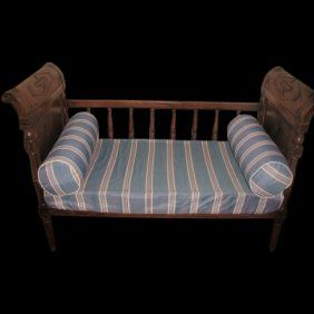 Directoire Day Bed 1800's France Baby Crib