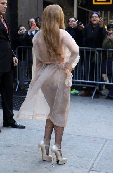 Lady Gaga - Celebs Drop by the 'Late Show with David Letterman'