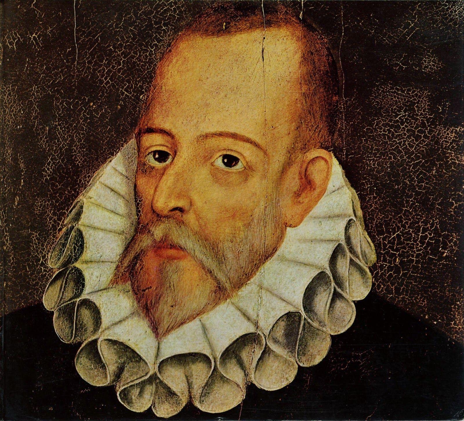 El Famoso Escritor Espanol Cervantes Miguel De Cervantes