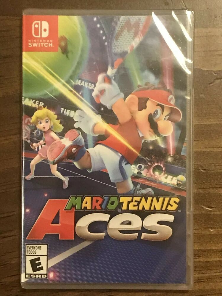 Mario Tennis Aces Nintendo Switch BRAND NEW SEALED FAST