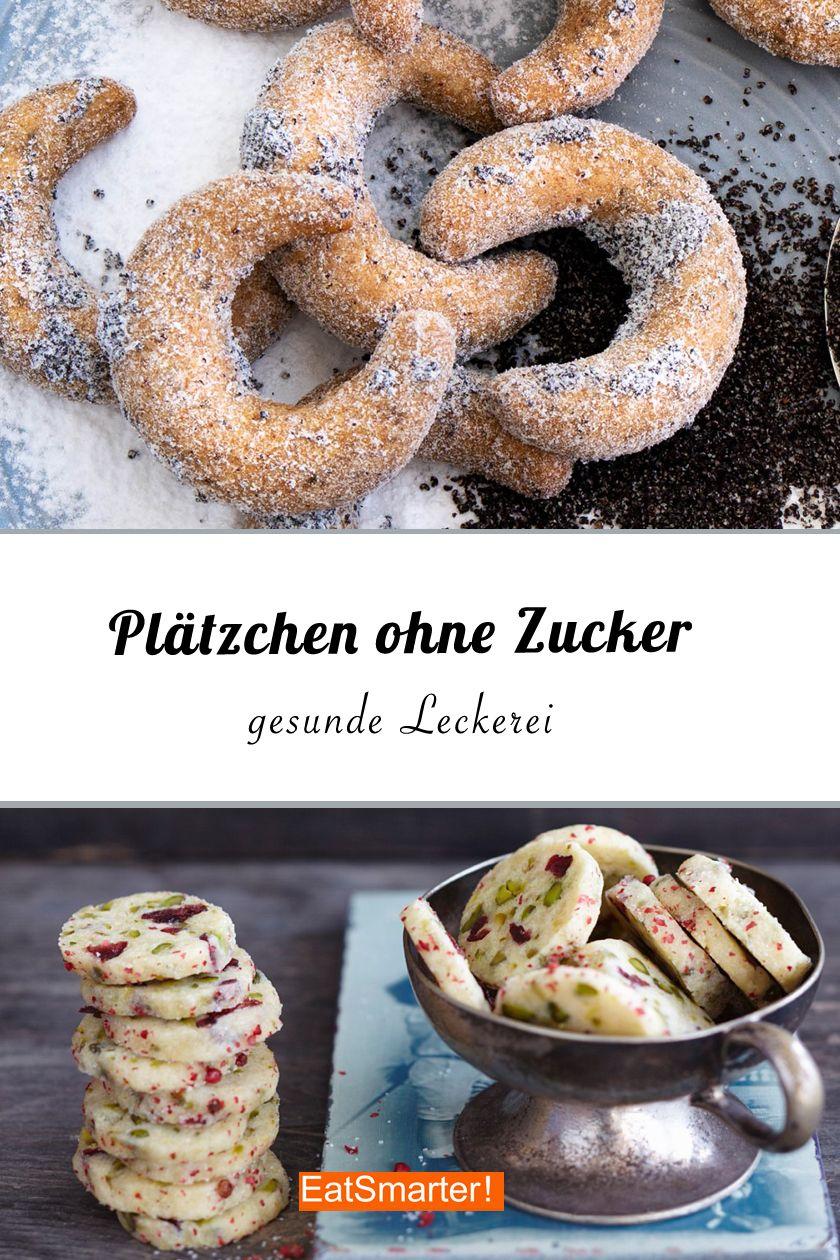 Plätzchen ohne Zucker – schmeckt das überhaupt? Ja! Wir zeigen euch, wie einfach ihr das nachbacken könnt und auch zuckerfreie Kekse genießen könnt | eatsmarter.de #zuckerfrei #zuckerarm #ohnezucker #plätzchen