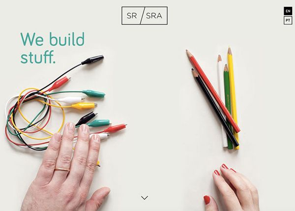 50 One Page Websites - 50 Fresh Web Examples - 16