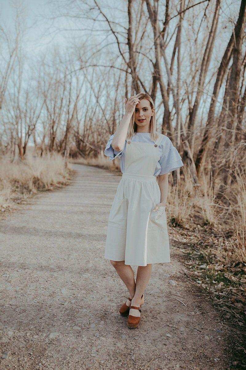 0c0efe90404 THE EMMET JUMPER DRESS IN NATURAL | dresses every occasion | Skirt ...